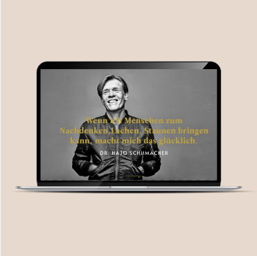 Website Hajo Schumacher